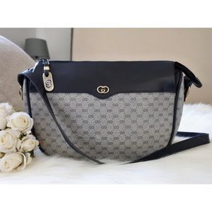 Gucci Mini GG Monogram Saddle Bag